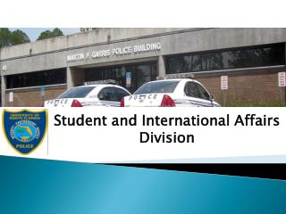 Student and International Affairs Division