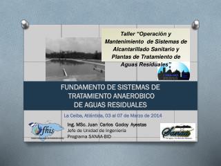FUNDAMENTO DE SISTEMAS DE  TRATAMIENTO ANAEROBICO  DE AGUAS RESIDUALES