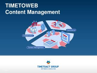 TIMETOWEB  Content Management