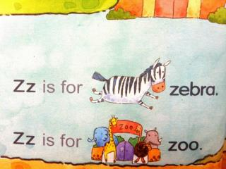 Zz, Zz, Zz,  Zz is for  zebra . Zz, Zz, Zz,  Zz is for  zoo. Zz,  / z /,  zebra .
