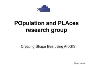 POpulation and PLAces research group
