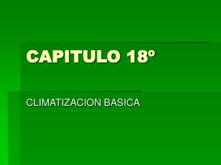 CAPITULO 18º