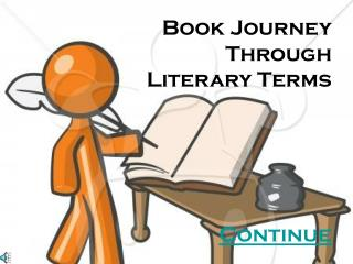 Book Journey Through Literary Terms Continue