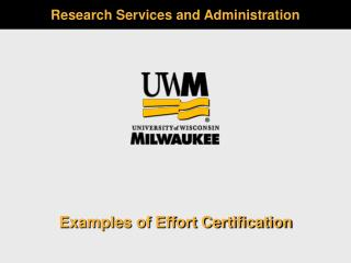 Research Services and Administration