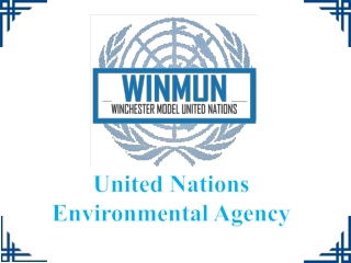United Nations Environmental Agency