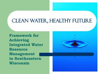 Clean Water, Healthy Future