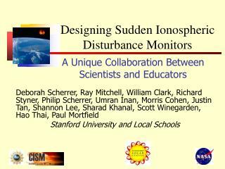 A Unique Collaboration Between Scientists and Educators