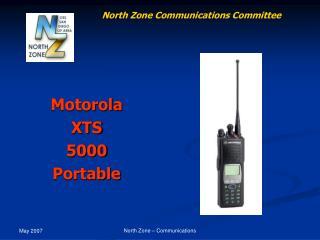 Motorola XTS 5000 Portable
