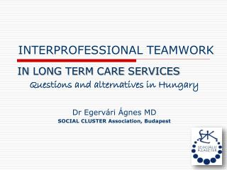 INTERPROFESSIONAL TEAMWORK