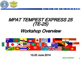 MPAT TEMPEST EXPRESS  25 ( TE-25) Workshop Overview