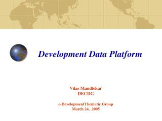 Development Data Platform