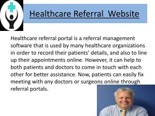 Find Medical And Beauty Specialists On Healthcare Referral W