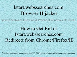 How to Get Rid of Istart.webssearches.com Virus Completely a