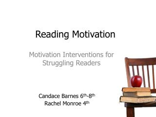 Reading Motivation