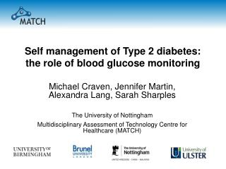 Self management of Type 2 diabetes: the role of blood glucose monitoring