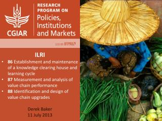 ILRI 86  Establishment and maintenance of a knowledge clearing house and learning cycle
