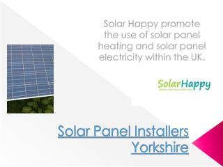 Solar Panels Sheffield