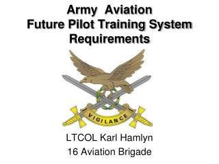 Army  Aviation Future Pilot Training System Requirements