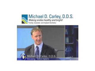 Facts on sedation dentistry Santa Barbara - Michael D. Carle