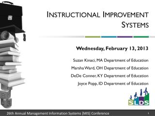 Instructional Improvement Systems