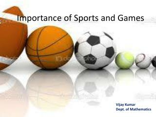 Importance of Sports and Games