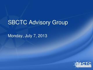 SBCTC Advisory Group