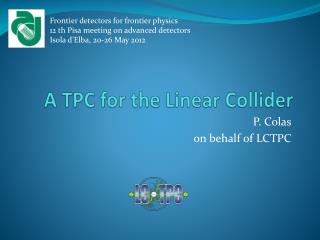 A TPC for the  Linear Collider