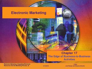 Electronic Marketing