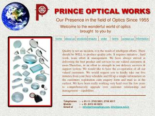 PRINCE OPTICAL WORKS