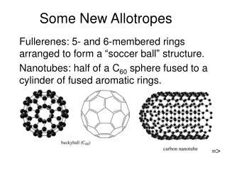 Some New Allotropes
