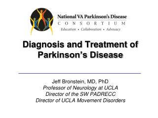 Diagnosis and Treatment of Parkinson's Disease