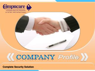 Complete Security Solution