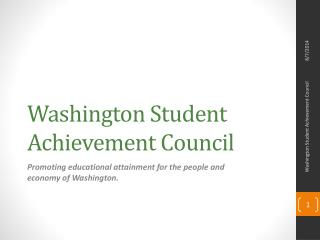 Washington Student Achievement Council