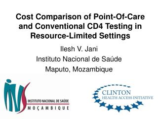 Cost Comparison of Point-Of-Care and Conventional CD4 Testing in Resource-Limited Settings