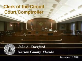 Clerk of the Circuit Court/Comptroller