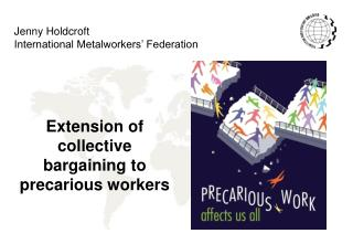 Extension of collective bargaining to precarious workers
