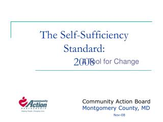 The Self-Sufficiency Standard: 2008