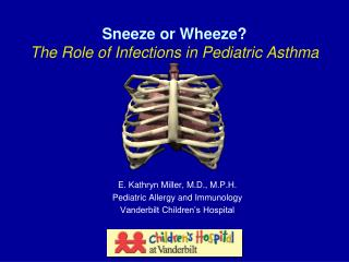 Sneeze or Wheeze? The Role of Infections in Pediatric Asthma