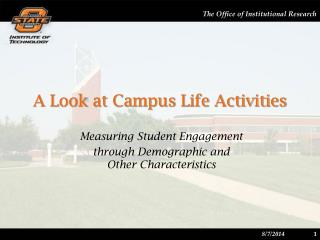 A Look at Campus Life Activities