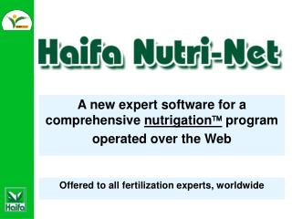 A new expert software for a comprehensive  nutrigation   program operated over the Web