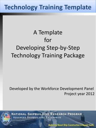Technology Training Template