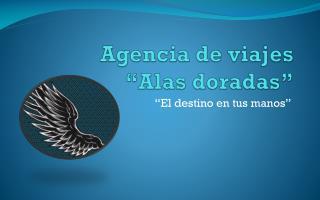 """Agencia de viajes """"Alas doradas"""""""