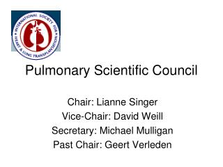 Pulmonary Scientific Council