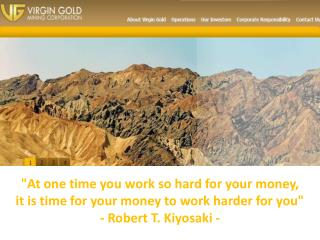 """At one time you work so hard for your money,"