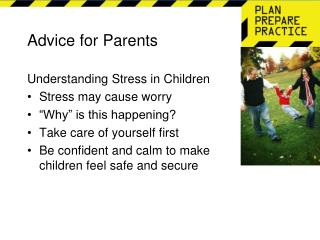 Advice for Parents