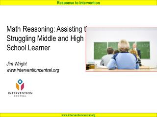 Download PowerPoint from this workshop at: interventioncentral/SSTAGE.php