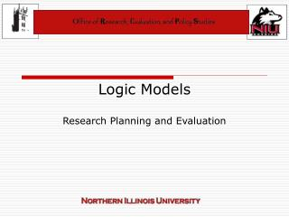 Logic Models Research Planning and Evaluation