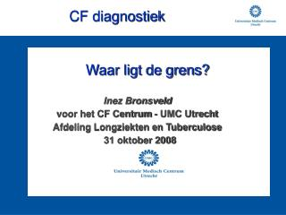 CF diagnostiek
