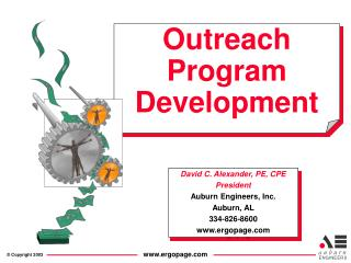 Outreach Program Development