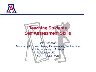 Teaching Students  Self Assessment Skills